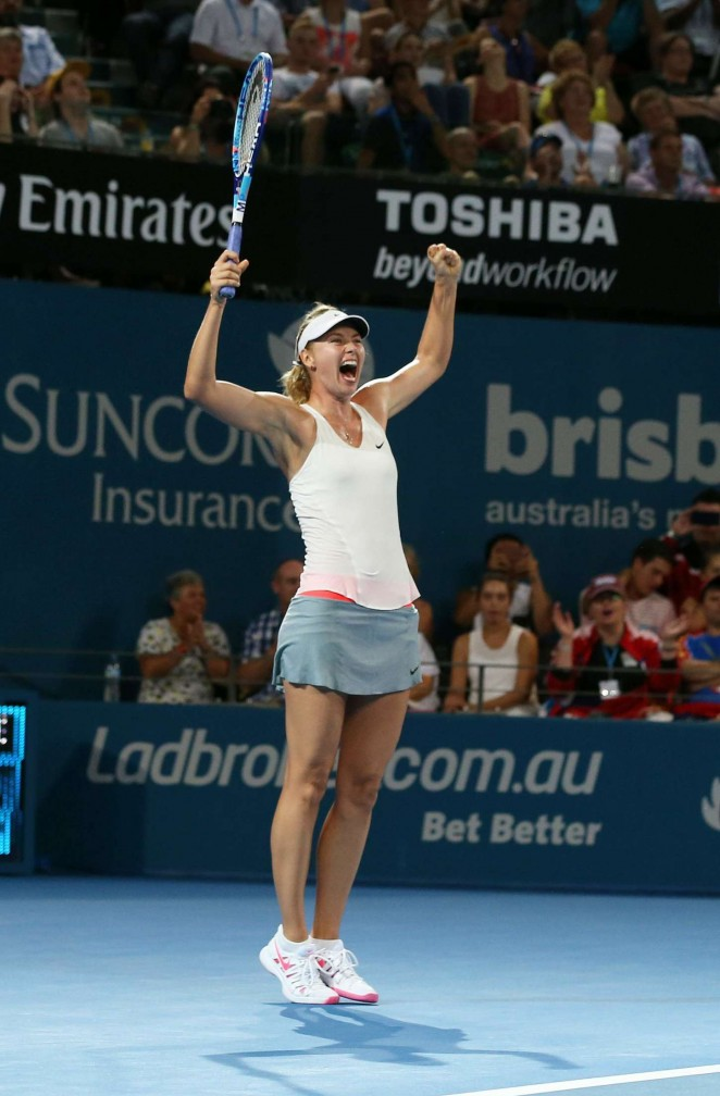 Maria Sharapova - Final Brisbane International 2015