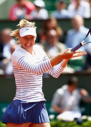Maria Sharapova: French Open 2015 -01