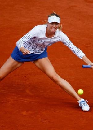 Maria Sharapova: French Open 2015 -02