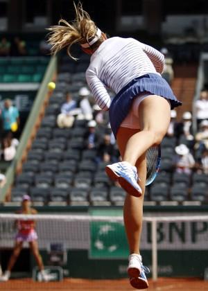 Maria Sharapova: French Open 2015 -06
