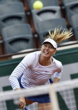 Maria Sharapova: French Open 2015 -10