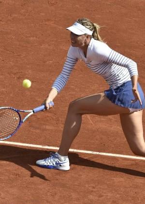 Maria Sharapova: French Open 2015 -12