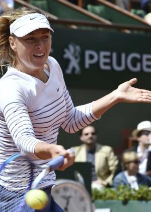 Maria Sharapova: French Open 2015 -14