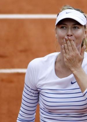 Maria Sharapova: French Open 2015 -16