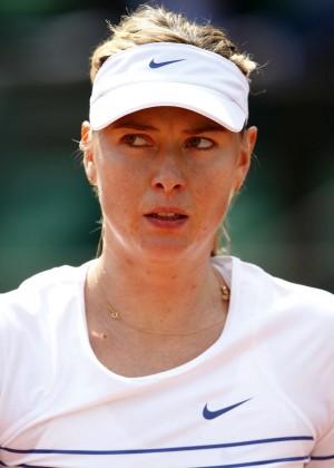 Maria Sharapova: French Open 2015 -17