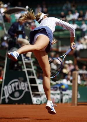 Maria Sharapova: French Open 2015 -18