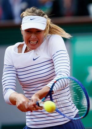 Maria Sharapova: French Open 2015 -21