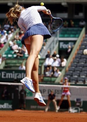 Maria Sharapova: French Open 2015 -27