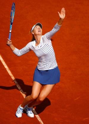 Maria Sharapova: French Open 2015 -28