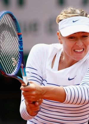Maria Sharapova: French Open 2015 -29