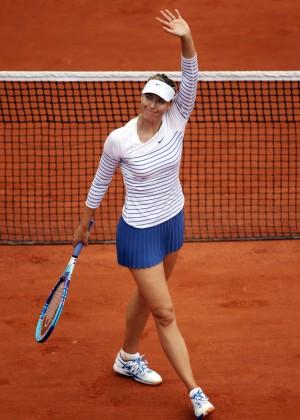 Maria Sharapova: French Open 2015 -30