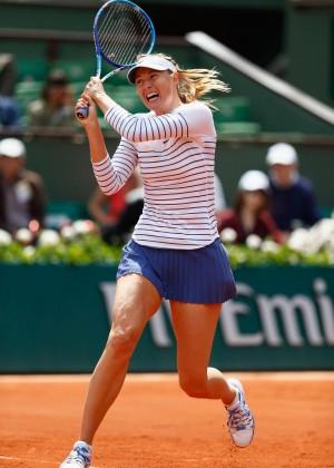 Maria Sharapova: French Open 2015 -31