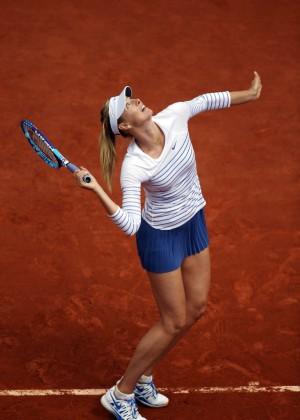 Maria Sharapova: French Open 2015 -34