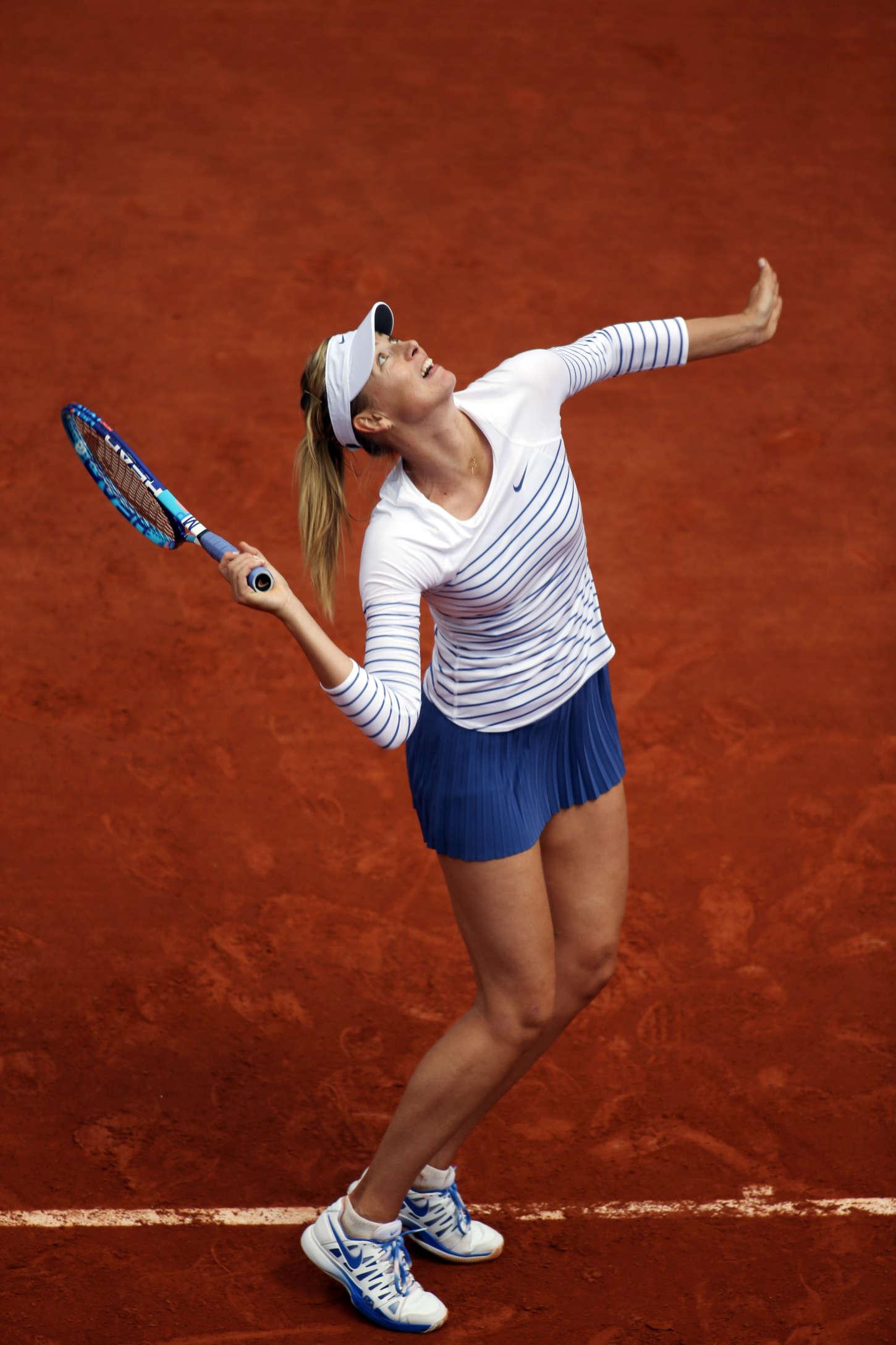 Maria Sharapova: French Open 2015 -34 - GotCeleb