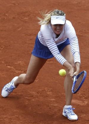 Maria Sharapova: French Open 2015 -35