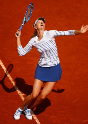 Maria Sharapova: French Open 2015 -36