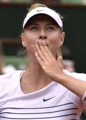 Maria Sharapova: French Open 2015 -38