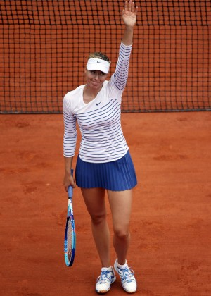 Maria Sharapova: French Open 2015 -39