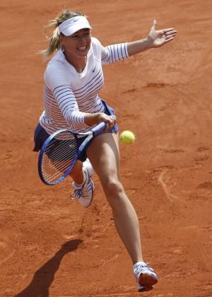 Maria Sharapova: French Open 2015 -40