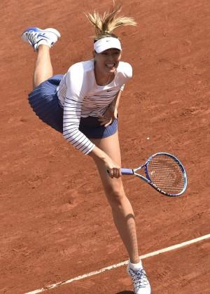 Maria Sharapova: French Open 2015 -42