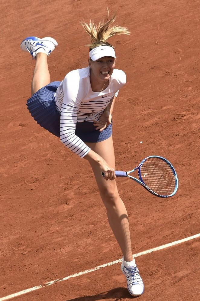 Maria Sharapova: French Open 2015 -42 - GotCeleb