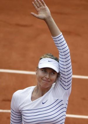 Maria Sharapova: French Open 2015 -45