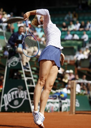 Maria Sharapova - French Open 2015 in Paris