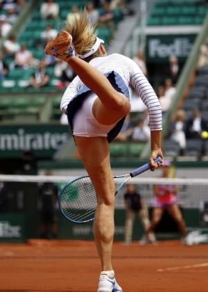Maria Sharapova: French Open 2015 -47
