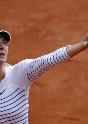 Maria Sharapova: French Open 2015 -51