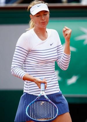 Maria Sharapova: French Open 2015 -52