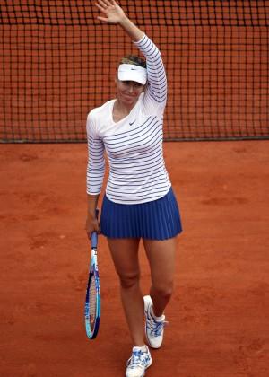 Maria Sharapova: French Open 2015 -53