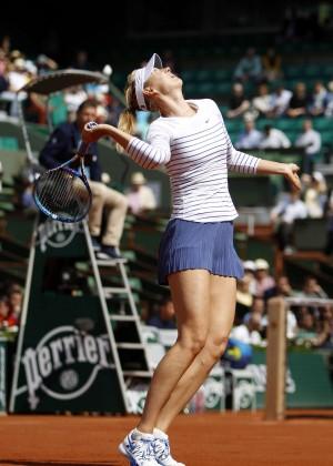 Maria Sharapova: French Open 2015 -54