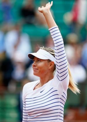 Maria Sharapova: French Open 2015 -56