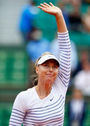 Maria Sharapova: French Open 2015 -58