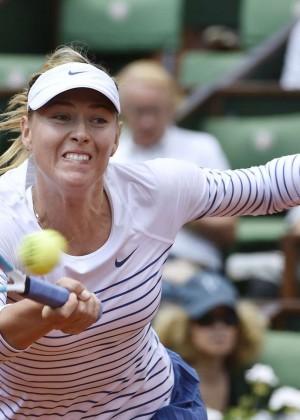 Maria Sharapova: French Open 2015 -59