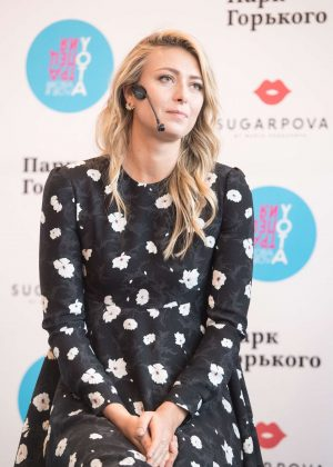 Maria Sharapova - Gorky Park to announce the Sugarpova launch in Moscow