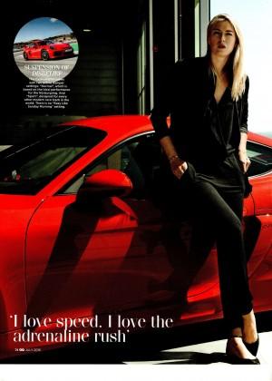 Maria Sharapova - GQ Magazine (July 2015)