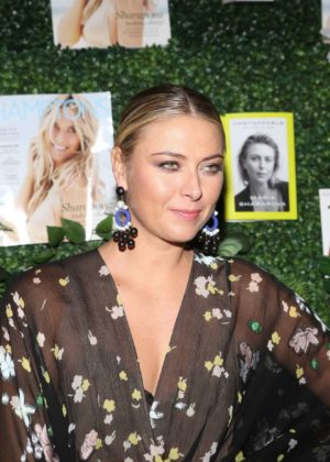 Maria Sharapova - Hamptons Magazines Celebration at PHD Terrace at Dream in NYC