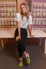 Maria Sharapova - Launches Sugarpova at Kingdom of Sweets in London