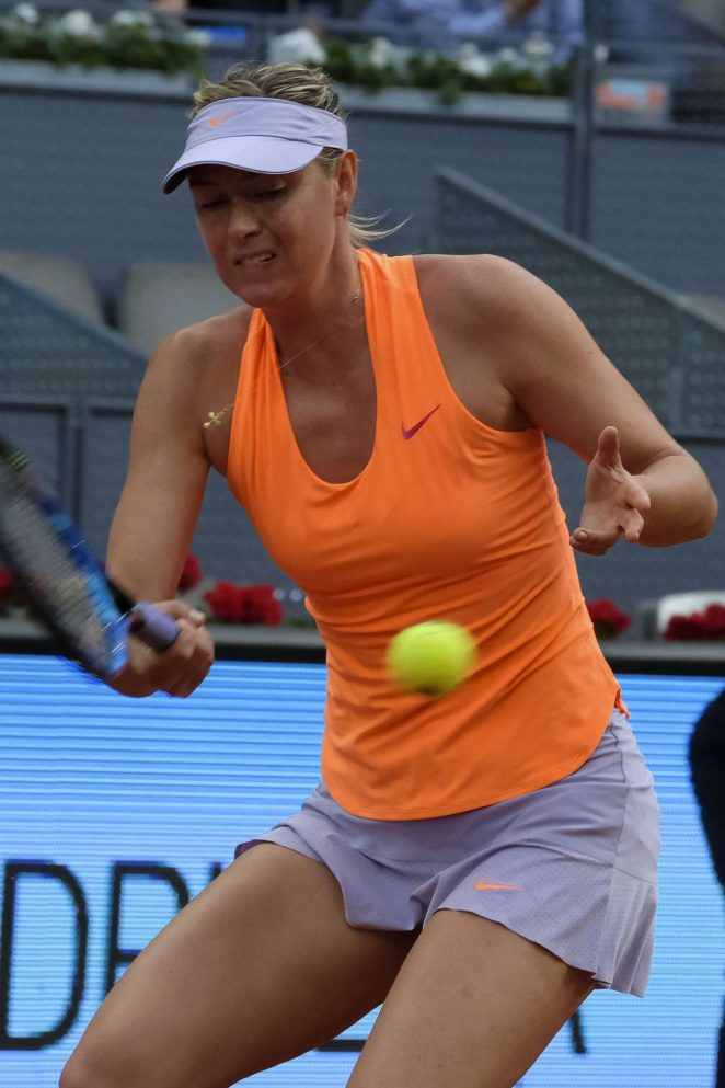 Maria Sharapova - Mutua Madrid Open Tennis 2017 in Madrid
