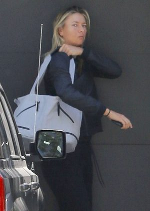 Maria Sharapova out and about in Manhattan Beach
