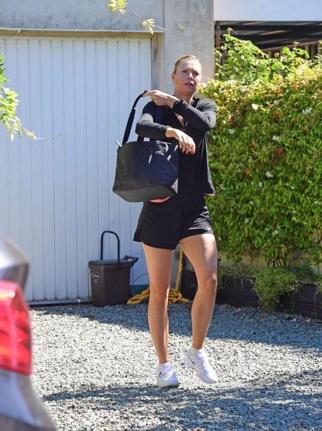 Maria Sharapova - Out in London