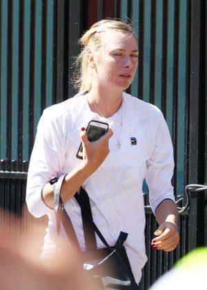Maria Sharapova - Out in Wimbledon