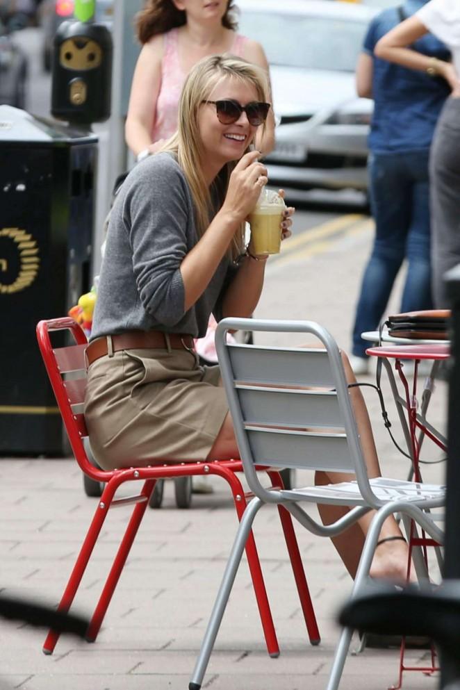 Maria Sharapova - Outside Her Sugarpova Store in Wimbledon Village