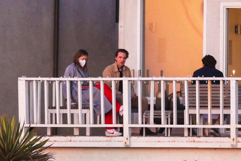 Maria Sharapova - Pictured with friends in Malibu
