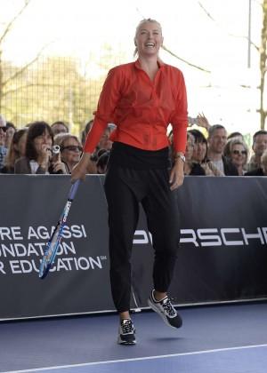 Maria Sharapova - Porsche Grand Prix in Stuttgart