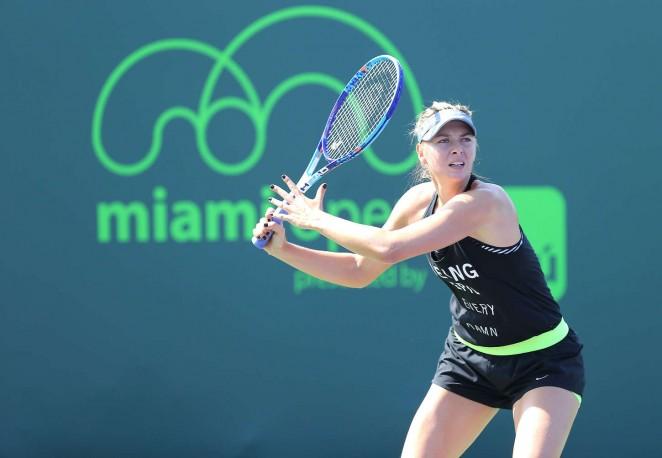 Maria Sharapova: Practice Session 2015 -01