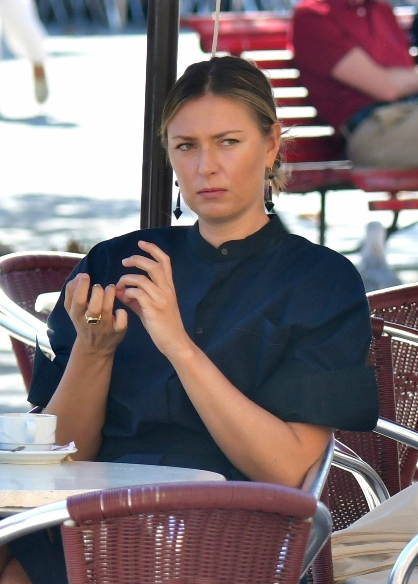 Maria Sharapova - Seen in Venice