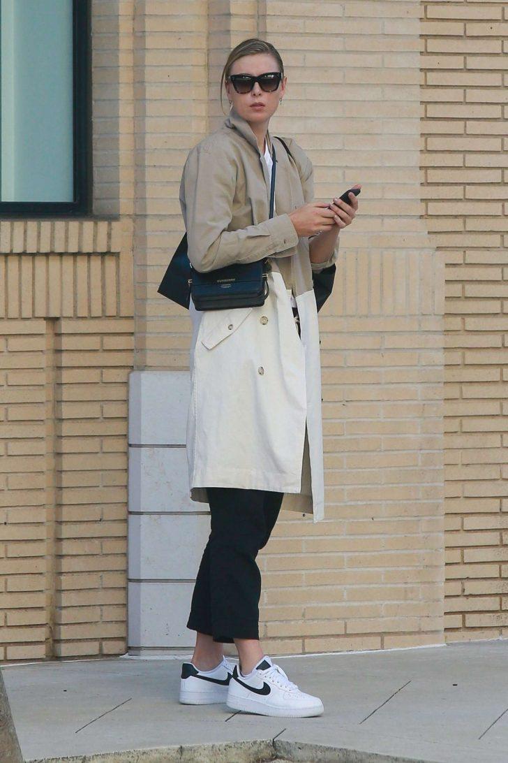 Maria Sharapova: Shops at Barneys New York -01