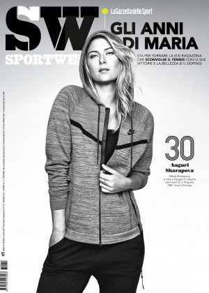 Maria Sharapova - SportWeek Magazine (April 2017)